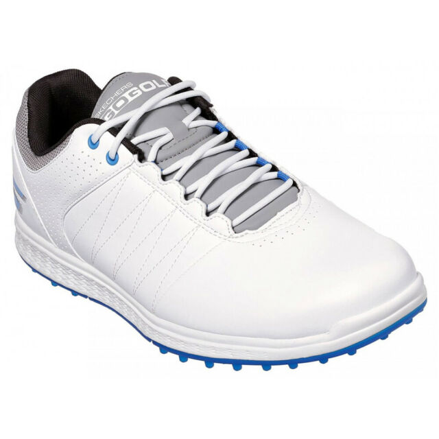 Acerca de la configuración Desobediencia oportunidad  Skechers Performance Go Golf Pivot Men's Shoes Size 10 White Gray Blue  Spikeless for sale online   eBay