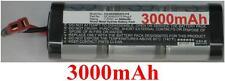 Batterie 7.2V 3000mAh type SC3000/D37/T-Plug F Pour Generic RC Racing Car