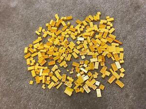 Mega Bloks Construx Halo Yellow Color Various Parts Pieces Lot