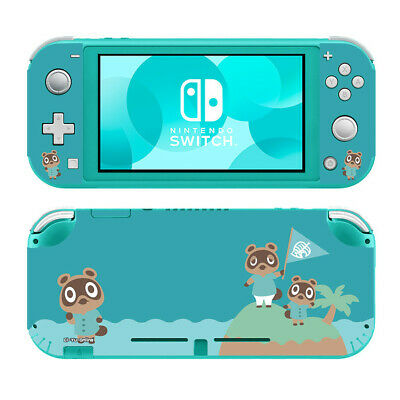 Nintendo Switch Lite Skin Animal Crossing Turquoise 1 Vinyl