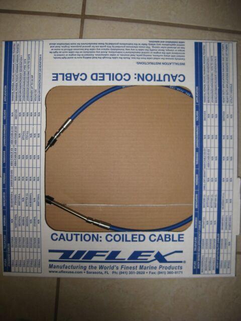 UFLEX MACHZeroX32 3300 33C Type Control Cables 32/'