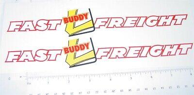 Buddy L Silver International Hood Stickers     BL-166