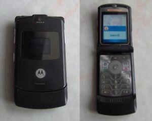Motorola RAZR V3 Nero - Italia - Motorola RAZR V3 Nero - Italia