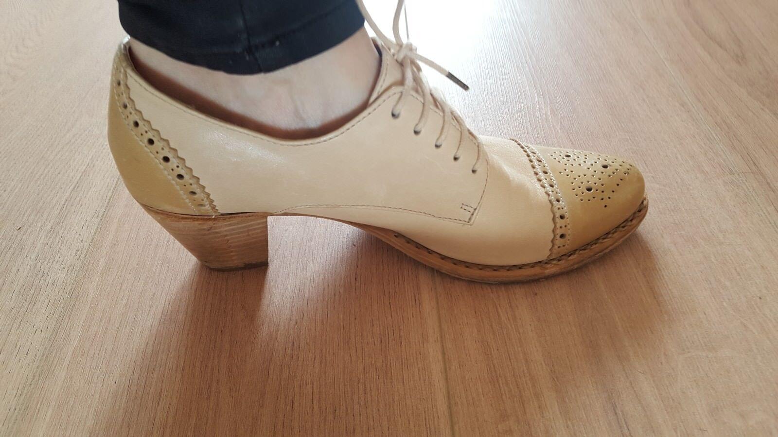 Designer Schuhe Leder Vero gr. 39 von Else Vero Leder Cuoio,  ein Mal getragen. Luxus eea5d0