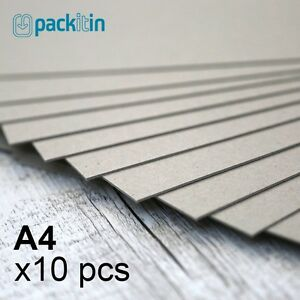 A4-Backing-Boards-10-sheets-700gsm-chipboard-boxboard-cardboard-recycled