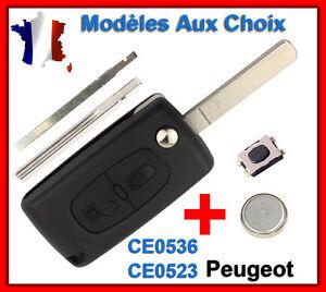 Chiavi-Pour-Peugeot-107-206-207-307-308-Sw-407-807-3008-5008-Partner-Expert