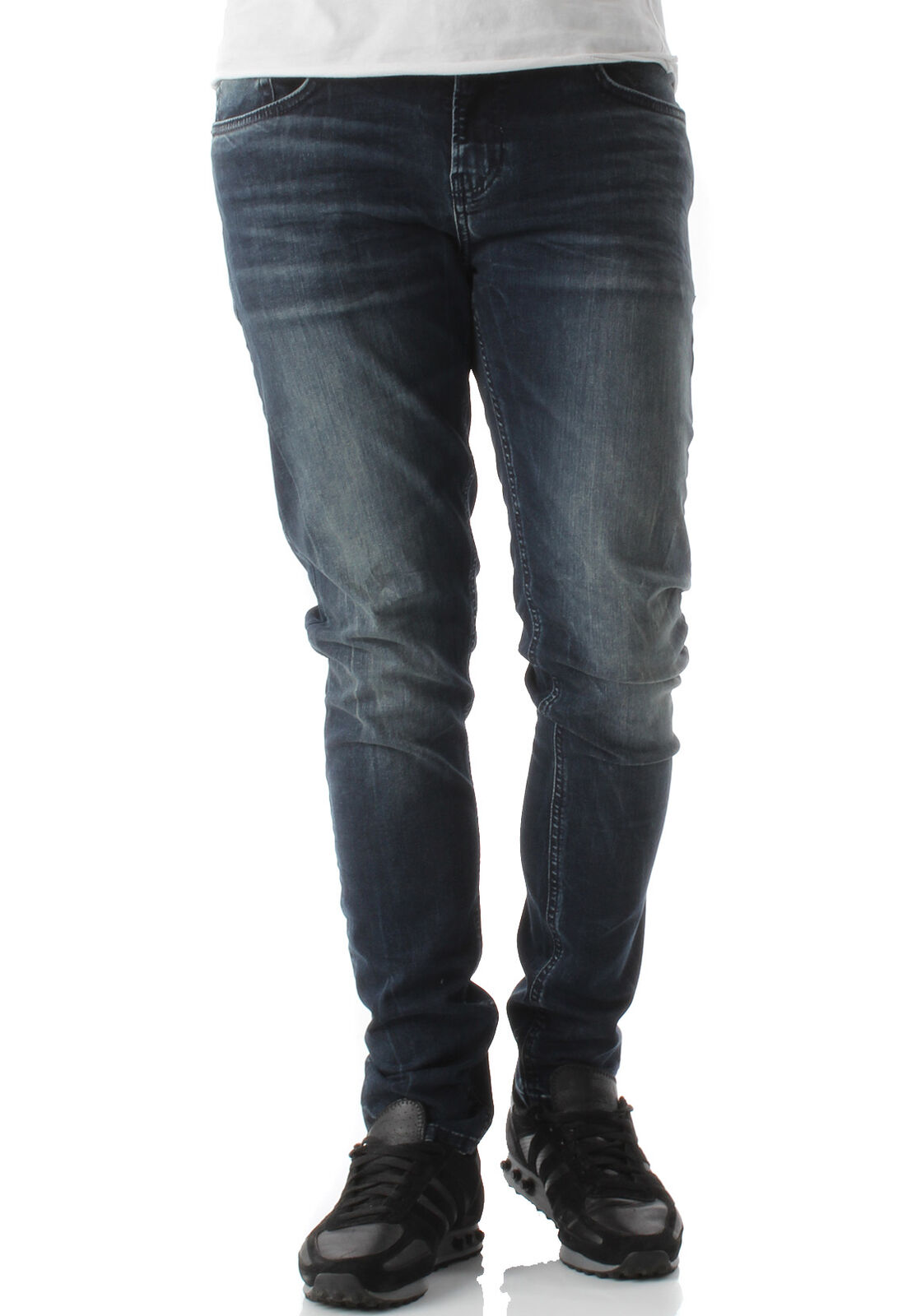 Ltb Men's Jeans Smarty Alpha Wash Dark bluee