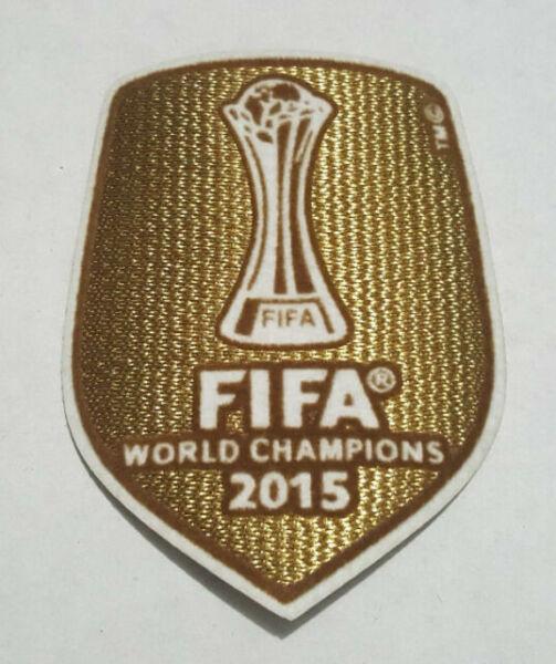 Details about  /SET Official 3 Patches Barcelona Champions League 2015-2019 Official PATCH SET