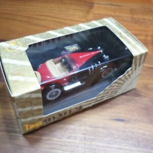 1933-Duesenberg-SSJ-Rojo-Negro-1-43-ESCALA-DIECAST-IXO-Museum-Collection-MUS006