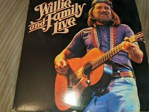 WILLIE-NELSON-AND-FAMILY-LIVE-LP-2-LP-LIVE-SET-1978-CBS-RECORDS-SO-CLEAN