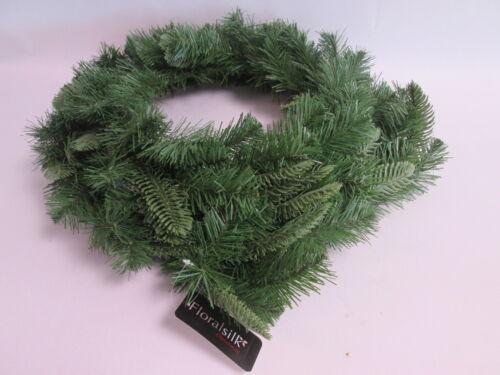 FloralSilk 2 Tier Christmas Wreath Wire Ring Floral Decoration 36cm 28cm #26D81