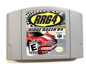 Ridge-Racer-64-NINTENDO-64-N64-Game-Tested-Working-amp-Authentic