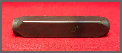"Size 3//8/"" C.H Standard Duty Hanson Steel Stamps #203501"