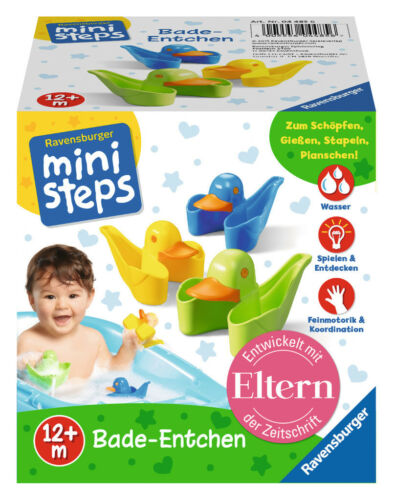 Badespielzeug Ravensburger ministeps Spielzeug 3 Bade-Entchen 04485 Spielzeug