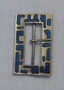 Ancienne-boucle-de-ceinture-metal-Vintage-couture-mercerie