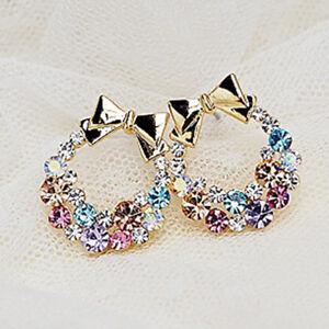 New-Fashion-1pair-Women-Lady-Elegant-Crystal-Rhinestone-Ear-Stud-Earrings-Gift
