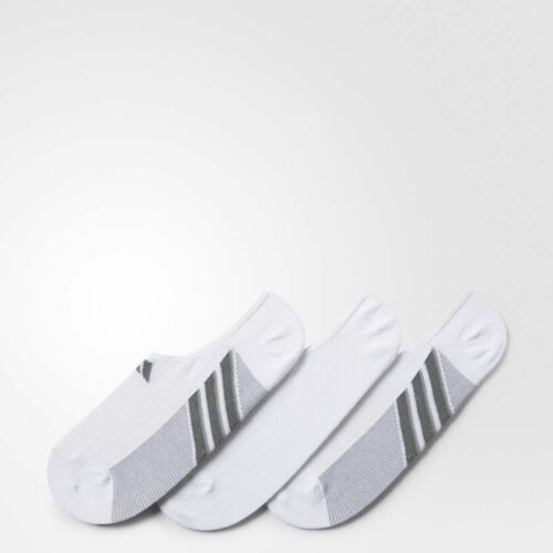 Adidas M Climacool Superlite Super No-show Sock White 3-pair B91335 New Men L