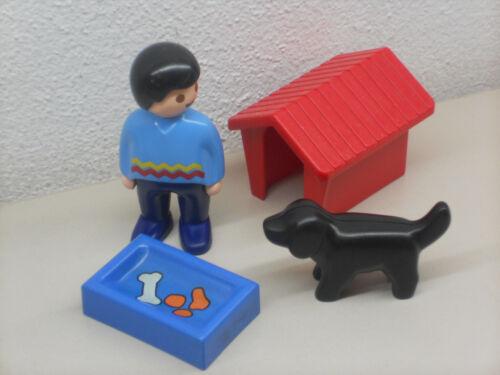 1-2-3- Playmobil ++++++ Mann mit Hund ++++Playmobil