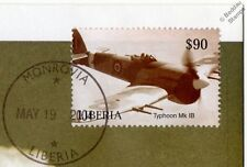 RAF HAWKER TYPHOON Mk.1B WWII Aircraft Stamp FDC (100 Years of Powered Flight)
