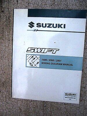1999 2000 2001 suzuki swift auto wiring diagram manual