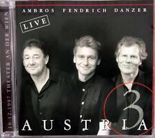 CD / AUSTRIA 3 / DANZER / AMBROS / FENDRICH / RARITÄT / LIVE /