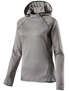 Pro-Touch-Damen-Laufshirt-langarm-Shirt-brushed-Hooded-Janina-mit-Kapuze-silber