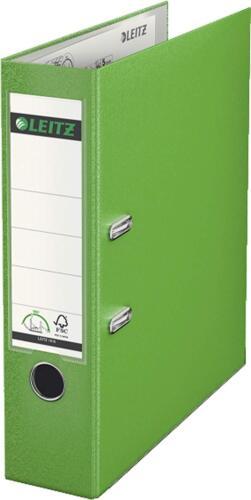 20 x ORDNER A4 8cm hellgrün LEITZ 1010 Kunststoff Qualitäts Aktenordner