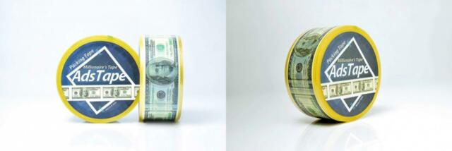 Adstape New Baseball Stitches Design Cellophane Adhesive Tape Funny Home Decor