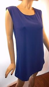 Mine-Size-Large-Terrific-Blue-Dress-With-Sexy-Glamourous-Back-Fully-Lined