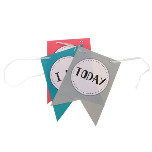 I AM 1 TODAY Mustache Crown Garland Chair Banner Kids 1st Birthday Party Supply