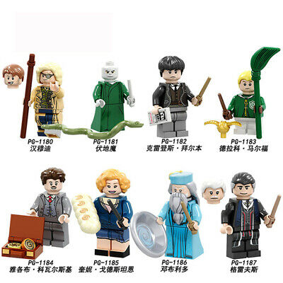 Single Building Blocks Harry Action Figure Potter Dobby Lord Voldemort Hermione