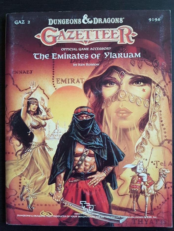 Dungeons & Dragons  GAZ 2 The Emirates Of Ylaruam 9194  a buon mercato