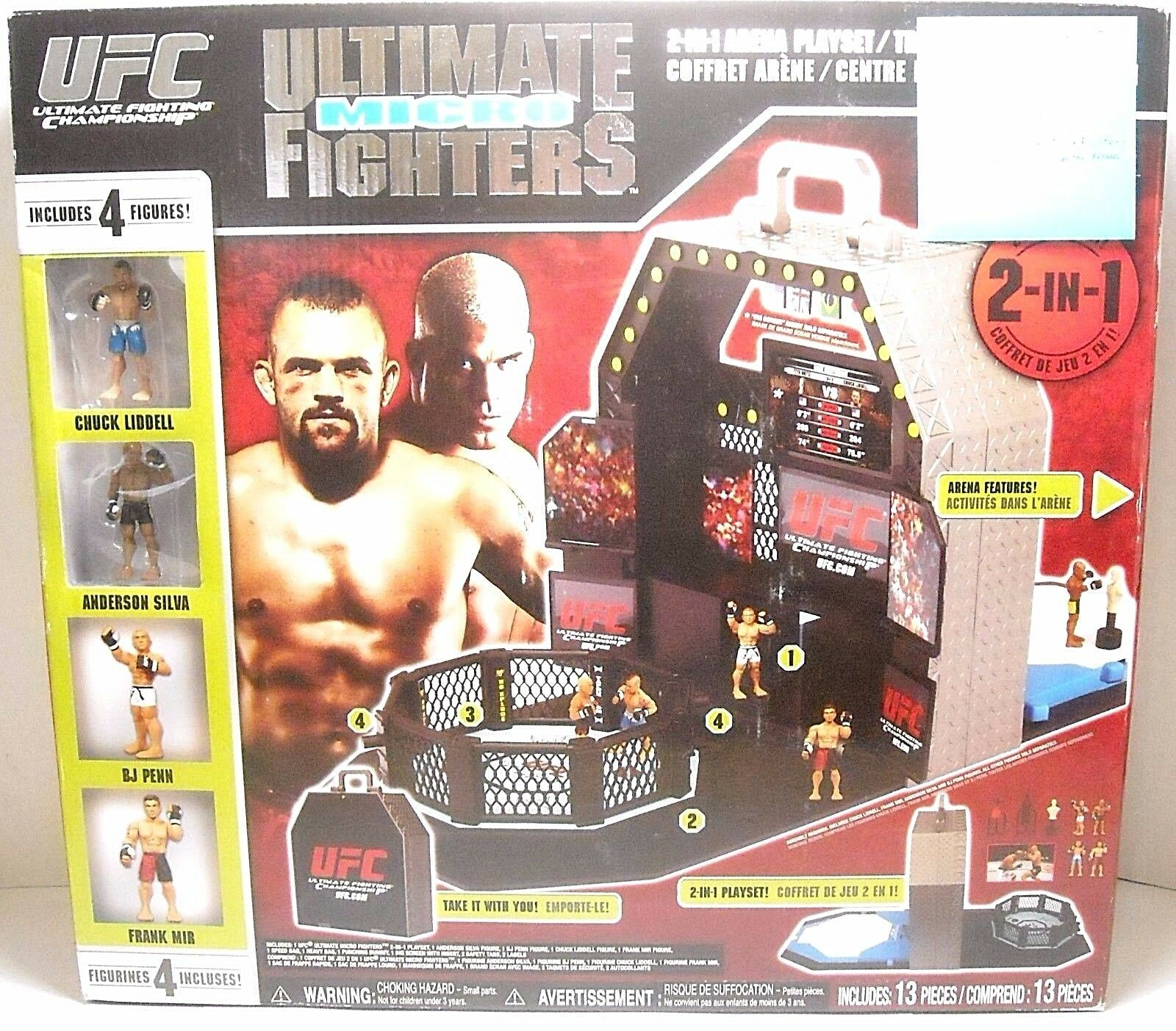 UFC Ultimate Micro Fighters octagontraining Center Arena   top marque