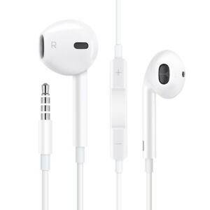 Gift-For-Apple-iPhone-5-6-plus-Wired-Headset-Headphones-Earbuds-3-5mm-Jack
