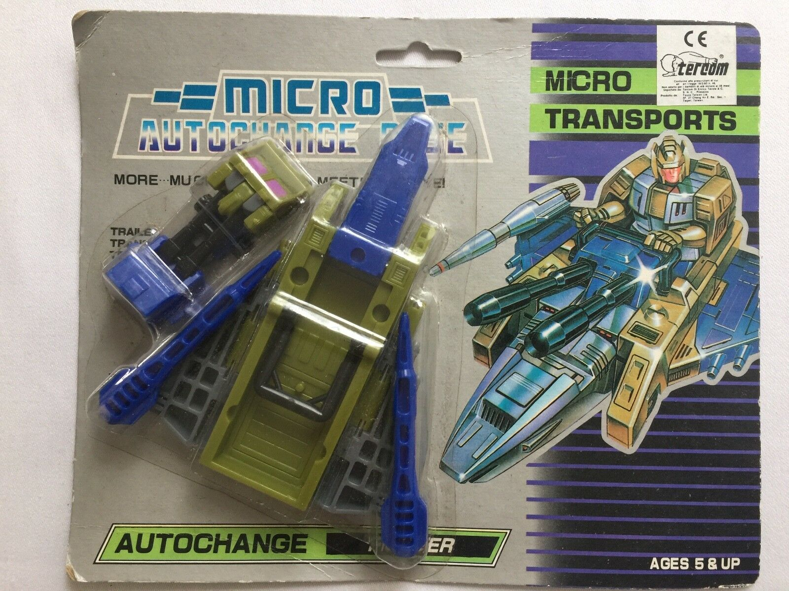 AUTOCHANGE transformer transport decepticon micromaster MOSC (roughstuff)