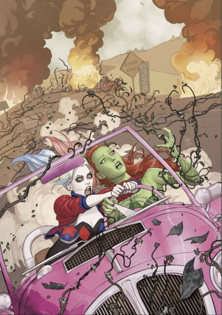 HARLEY QUINN & POISON IVY #1 (OF 6) REGULAR COVER BY DC
