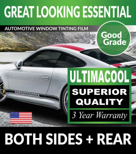 UC PRECUT AUTO WINDOW TINTING TINT FILM FOR CHEVY 2500 CREW 15-18