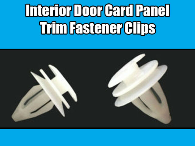 1x Clips for Rover 25 MG ZR 75 MG ZR Interior Door Card Panel Trim 51411973500