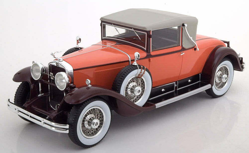 1929 Cadillac 341 B Congreenible Coupe by BoS Models LE of 504 1 18 Scale New