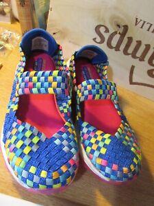 Sketchers-Kids-Memory-Foam-Sandals-Trainers-Size-11-5-SN80229L