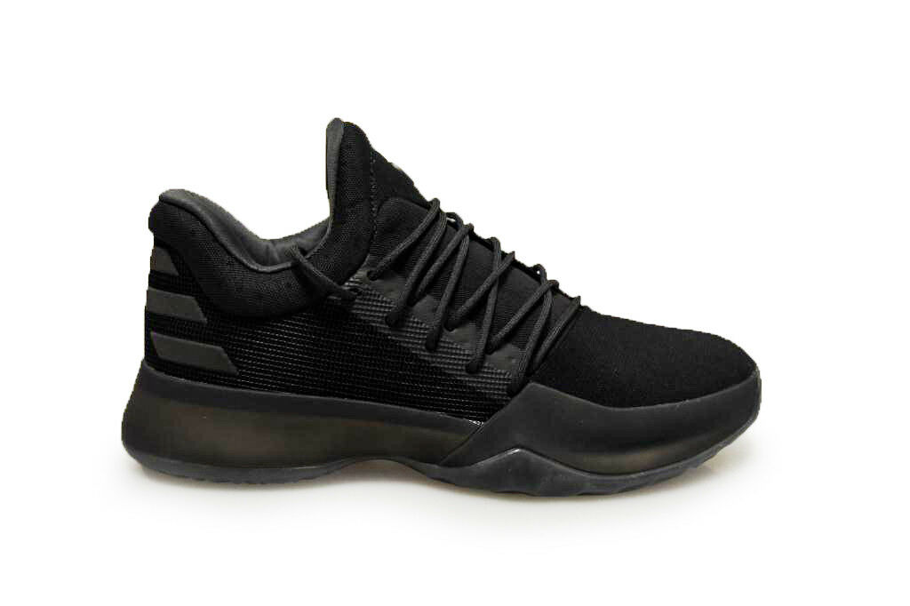 Mens Adidas Harden Vol.1 - B39500 - Black White Trainers
