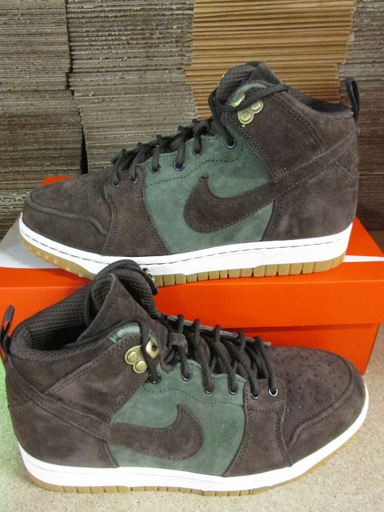 Nike DUNK CMFT WB homme baskets montantes 805995 300 baskets chaussures-