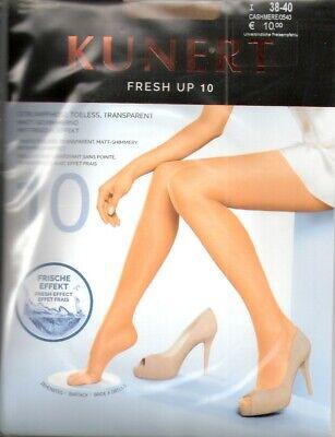 Kunert Fresh up 10 Pantyhose Transparent Matt-Schimmernd 12den Cashmere