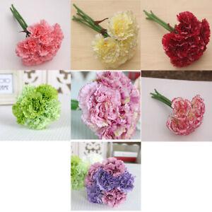 Artificial-Fake-Carnation-Silk-Flower-Wedding-Party-Bridal-Bouquet-Home-Decor