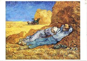 Alte-Kunstpostkarte-Vincent-van-Gogh-La-meridienne