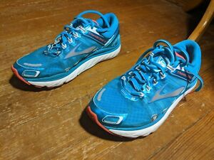 Guide Rails Ladies Teal Running Shoes