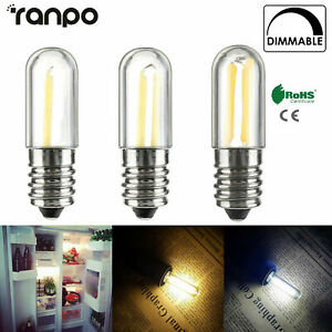 Dimmable-Mini-E14-E12-LED-Fridge-Freezer-Filament-Light-COB-Bulbs-2W-4W-Lamp-RK