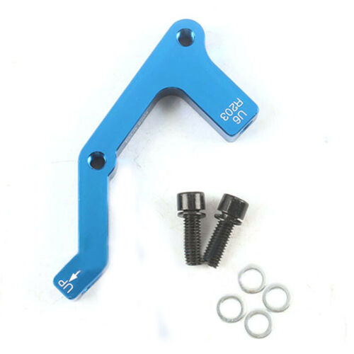 Disc Brake Adaptor MTB Bike Aluminium Disc Brake Rotor Mount Caliper 180//203mm