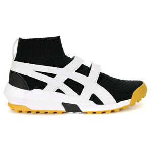 ASICS Onitsuka Tiger AP Knit Trainer White/Black Shoes 1183A418.001 NEW