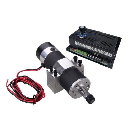 New 600W CNC Spindle Motor Kits w// PWM Speed Control Power Supply Mount Bracket